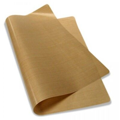 "Teflon Cover Sheet 16""X20"" 5 mils for Transfer Paper Iron-On and Heat Press PTFE"