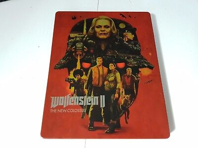 Wolfenstein II - The New Colossus - Steel Case / Steel Book (No Game)