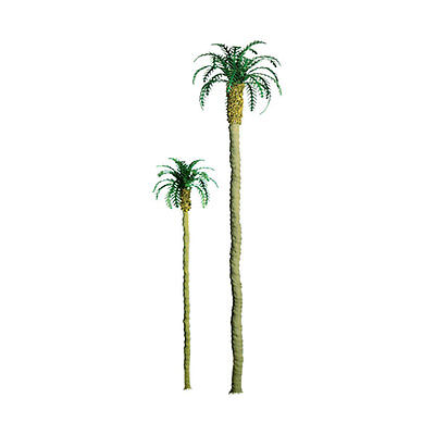 "Jtt Scenery 94236 Professional Series 2"" Palm Trees    6Pk  Z-Scale  Jtt94236"