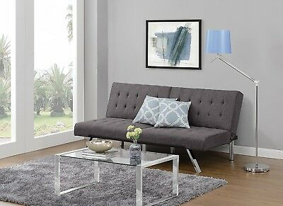 Enjoyable Dhp Emily Futon Sofa Bed Modern Convertible Couch With Bralicious Painted Fabric Chair Ideas Braliciousco