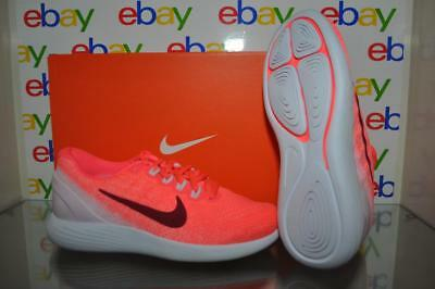 newest 381e2 bc16d NIKE LUNARGLIDE 9 Womens Running Shoes 904716 601 Hot Punch/Noble Red NIB