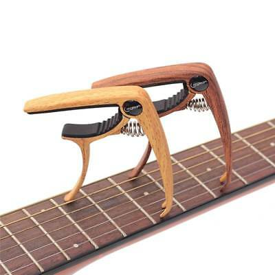 Zinc Alloy Guitar Capo With Pick Holder For Acoustic Electric Classical Guitar
