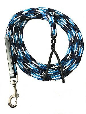 Halter Lead Rope - Navy, Blue and White