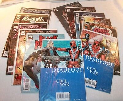 Marvel Comics 1983 The End of Ghost Rider #81 Final Issue Plus 11 Other Misc.