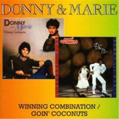 Donny And Marie Osmond-Winning Combination/goin' Coconuts  (UK IMPORT)  CD NEW