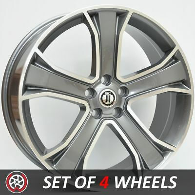 22 Inch STORM Wheels Rims for Range Rover Sport and Vogue Grey Machined