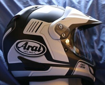 29ea34f0 Arai XD 4 Vision Frost White FREE Ship or Dark lens option motorcycle