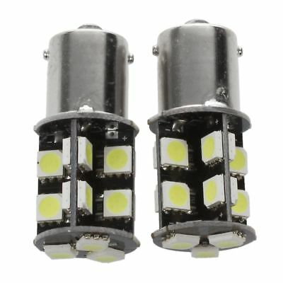 HU 2x Auto Lamp Ampoules BA15s P21W 1156 19 5050 SMD LED Canbus Erreur DC 12V