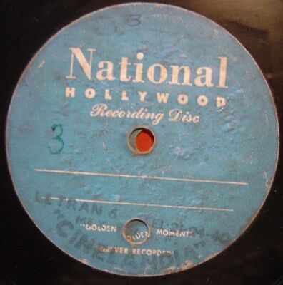 "RARE VINTAGE ACETATE 5"" 78rpm NATIONAL HOLLYWOOD °MEXICOº CINELÂNDIA LATERAN 6"