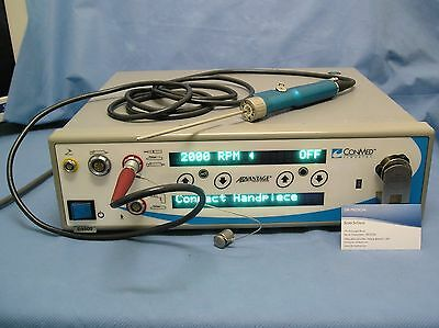 Linvatec Arthroscopy Shaver System, D3000 Advantage Console with D9924
