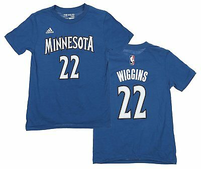 a02bfaf58925 ADIDAS ANDREW WIGGINS Minnesota Timberwolves Youth Medium Replica ...