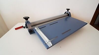 SHEET METAL ROLLER MANUAL ROLLING MACHINE WITH TABLE HEVAY DUTY 625mm x 1.5mm