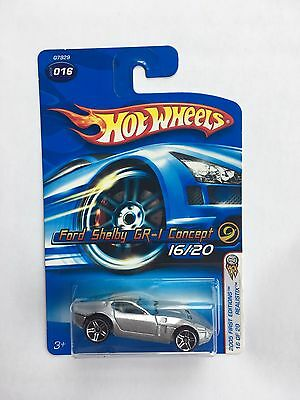 Hot Wheels 2005 First Editions Realistix Ford Shelby GR-I Concept #16/20