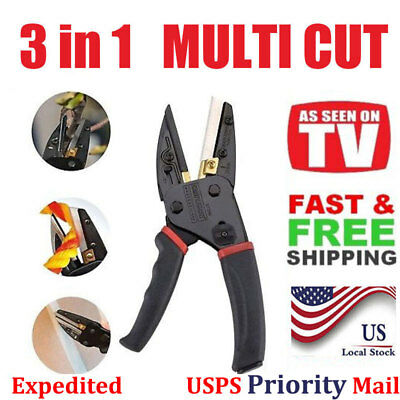 3 in 1 MultiCut Power Cutting Tool With Built-In Wire Cutter