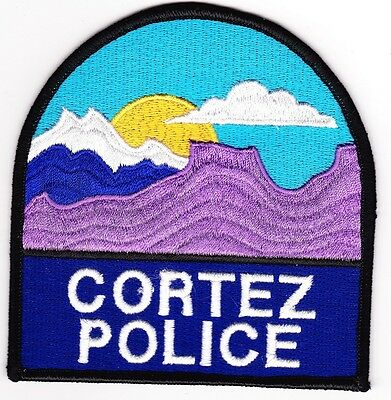 Cortez Police Patch Colorado CO NEW!!