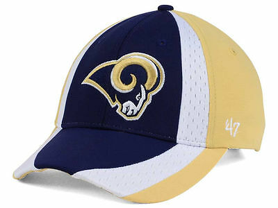 buy popular 1c227 f343d Los Angeles Rams Men s  47 Brand NFL Touchback MVP Adjustable Cap Hat NWT