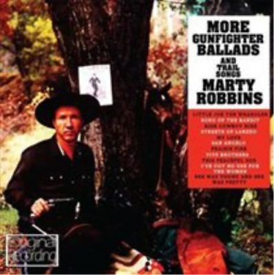 Marty Robbins-More Gunfighter Ballads and Trail Songs  (UK IMPORT)  CD NEW