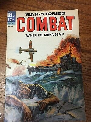 Combat #16!! Silver Age Classic from Sell Comics!! Painted Cover!! 1965!!