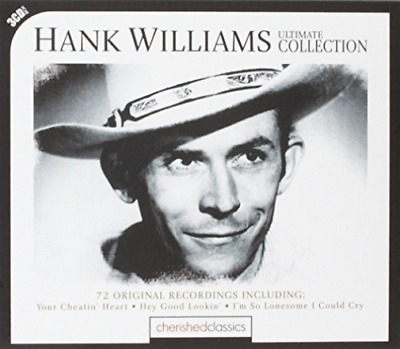Williams Hank-Ultimate Collection-72 Orig Rec  (Uk Import)  Cd New