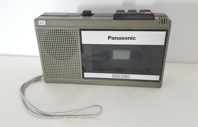 Panasonic One Touch Cassette Recorder RQ-339 Pre Owned Tested