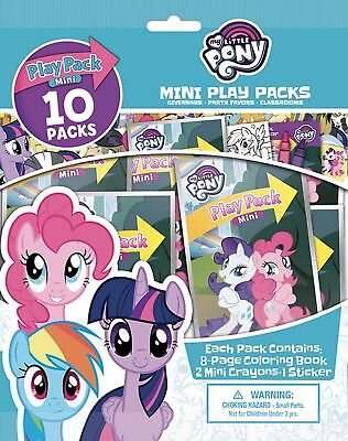NEW My Little Pony Mini Grab Go Play Pack Of 10