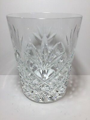 """Waterford Crystal CIARA - DOUBLE OLD FASHIONED GLASS 4-3/8"""" - free shipping"""