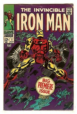 Iron Man 1   Premiere Issue