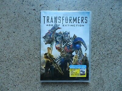 Transformers Age of Extinction Movie DVD