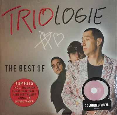 Trio - The Best Of Triologie -  2 colored vinyl pink white new sealed - da da da