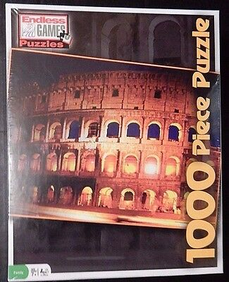 Endless Games Puzzles 1000 Piece Artist Collection Roman Colosseum - New Sealed