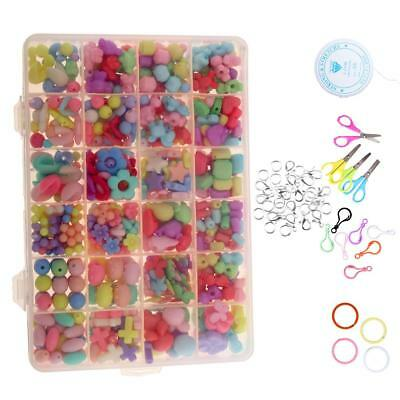 590pcs Lot Pack DIY Jewelry Kit for Girls Necklace Bracelet Findings Toys