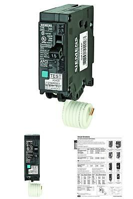 Circuit Breaker 15 Amp Single Pole 120 Volt Plug Type Branch Feeder Style