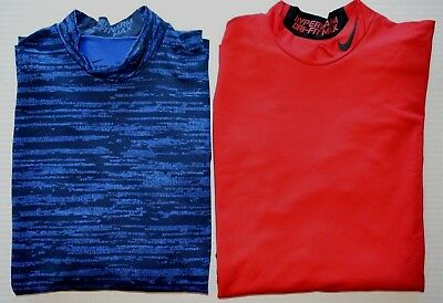 8ad7818be Men's Nike Pro Combat Hyperwarm Dri-Fit Max FITTED Long Sleeve Athletic  Shirt