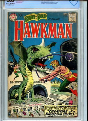 Brave and the Bold #34 CBCS 3.0 Hawkman