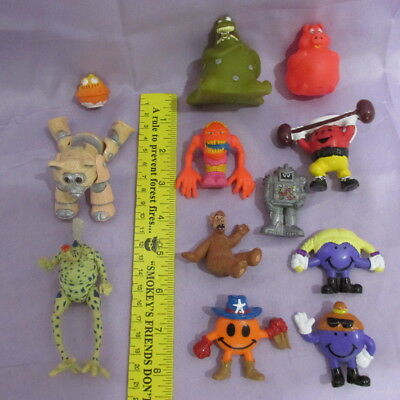 Misc Lot Small Figures & Toys- Star Wars, Kool-Aid Man, Alf, and Many More 12PCS