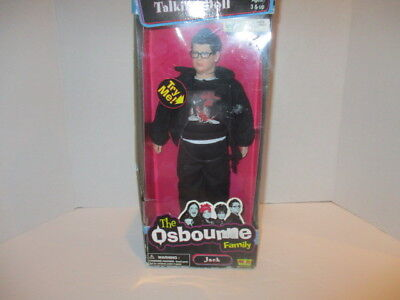 "The Osbourne Family ""jack"" Talking Doll -12 Inch"