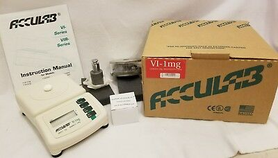 "Acculab VI-1mg Electronic Balance / Scale-""NEW IN BOX"""