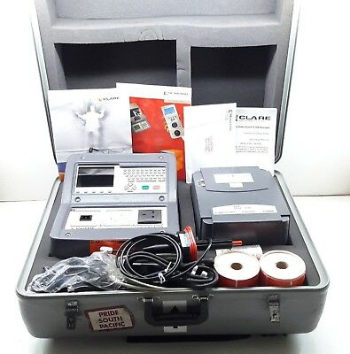 Seaward Clare Safe Check Dx Pat Tester Power Tool Electrical Appliance Tester