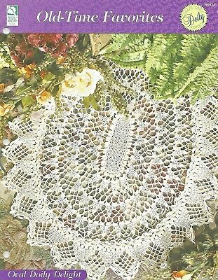 Scallop Shells Crochet Pattern Old Time Favorites Howb Doily