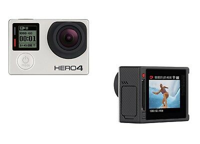 GoPro Hero 4 SILVER Edition 4K Action Camera Waterproof w/ LCD Touchscreen