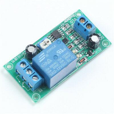 DC 12V NE555 0~60 Seconds Delay Timer Time Switch Adjustable Time Relay Module S