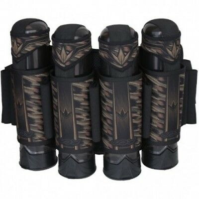 Bunker King Supreme V3 Joy Division Paintball Gotcha Woodland Harness Pod Pods