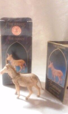 Fontanini, Donkey Figurine #52443 , In box with Story Card