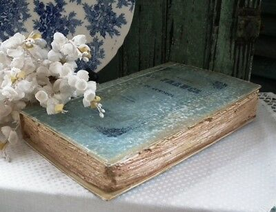 CODY FOSTER Beautiful ~FRENCH HOLLOW BOOK BOX~ Aged & Distressed NWT