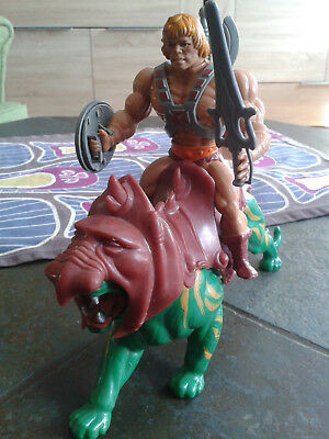 He-Man mit Battle Cat, Masters of the Universe - KULT -