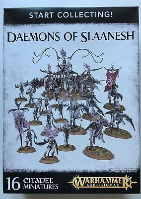 Warhammer - Start Collecting Daemons of Slaanesh - AoS