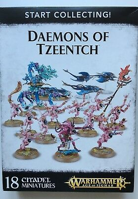 Warhammer - Start Collecting Daemons of Tzeentch - AoS