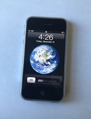 Apple iPhone 1st Generation - 8GB - Black Smartphone Works 100%