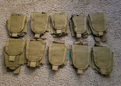 PRE MSA PARACLETE GRENADE POUCH RSFG0815 MOLLE (lot of 10)