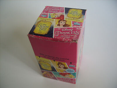 Topps Disney Princess Trading Cards, Display mit 24 Booster, SCHNÄPPCHEN !!